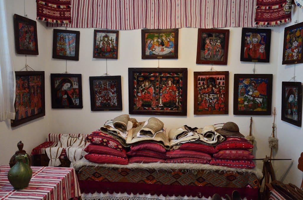 Muzeul de Icoane pe sticlă din Sibiel