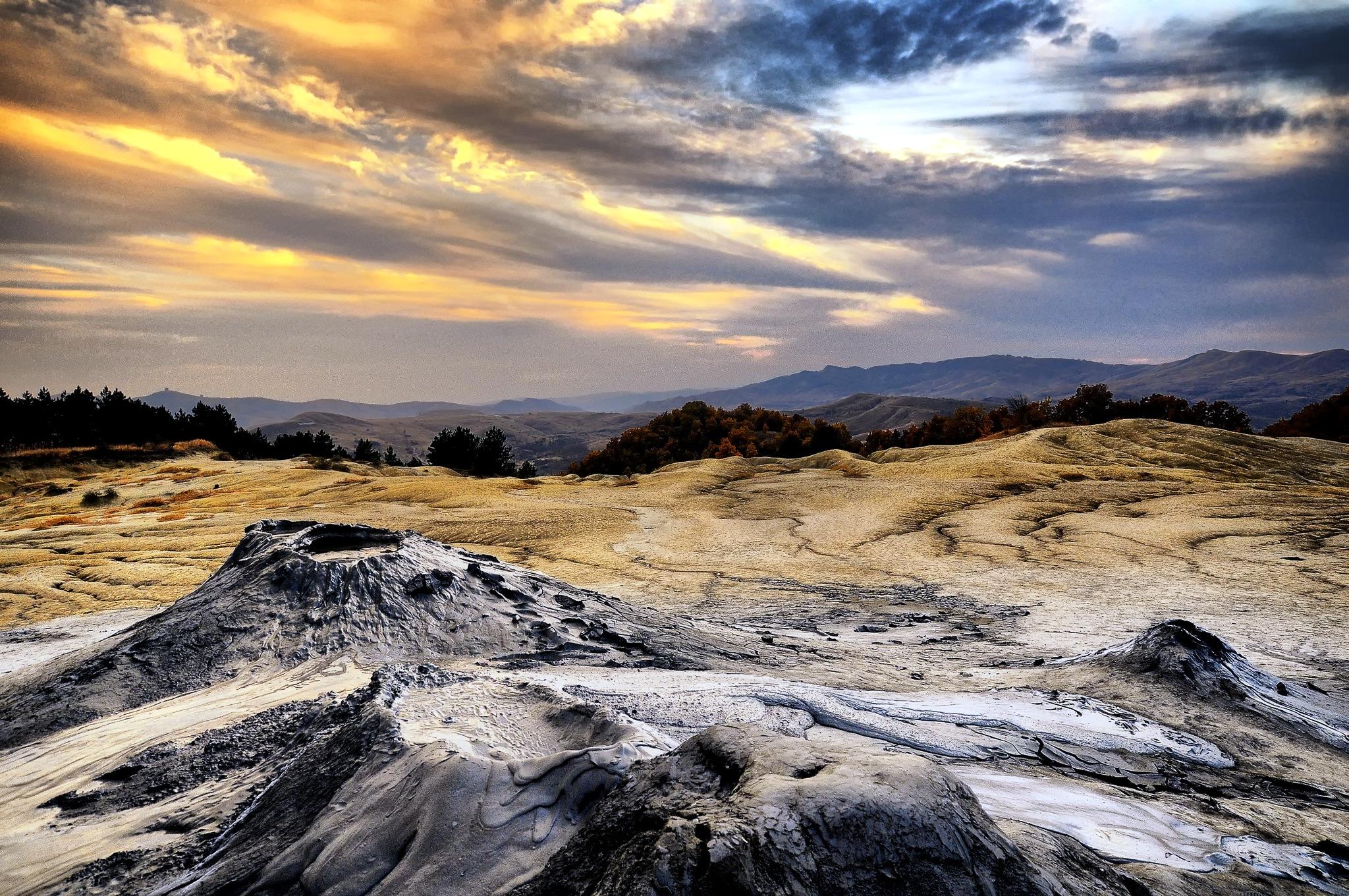 Vulcanii Noroiosi de la Berca (Buzau)