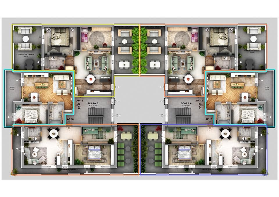 Ansamblul Rezidential Green Vilage Apartments