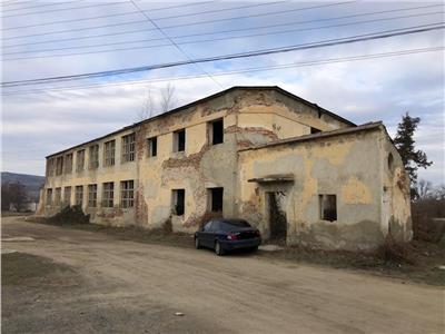 Hala si teren de vanzare in Marginimea Sibiului zona Orlat