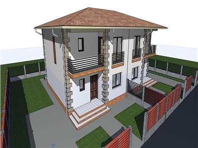 Casa tip duplex de vanzare in Sibiu zona Calea Cisnadiei