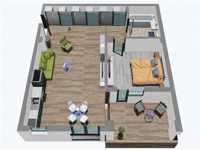 Apartament 2 camere de vanzare in Sibiu zona Garii