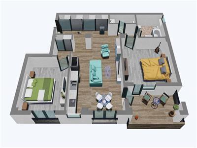 Apartament 3 camere de vanzare in Sibiu zona Garii