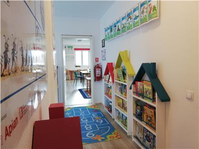 Spatiu birouri de inchiriat pretabil cursuri-after school zona Lupeni