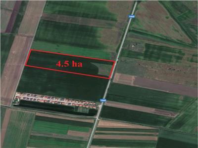 Teren intravilan de vanzare Sibiu zona Sura Mica 45000 mp