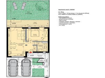 Apartament 2 camere de vanzare Sibiu - Calea Cisnadiei