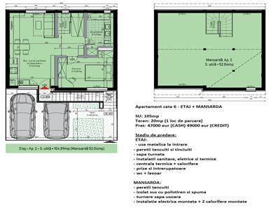 Apartament 3 camere de  vanzare Sibiu - Calea Cisnadiei