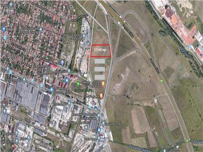 Teren industrial Sibiu de vanzare zona Compa cu PUZ aprobat