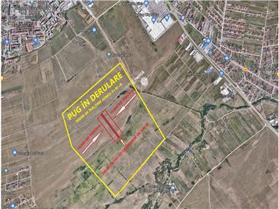 Teren de vanzare Sibiu pretabil constuctie Blocuri S+P+10E
