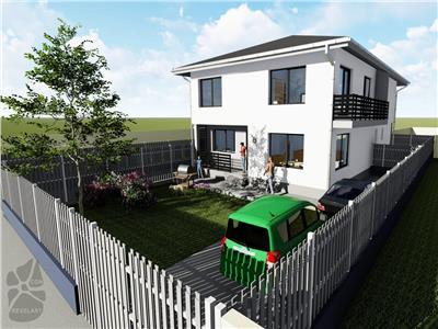 Casa tip Duplex de vanzare Sibiu zona Selimbar