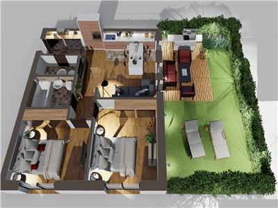 Apartament 3 camere de vanzare Sibiu zona Turnisor