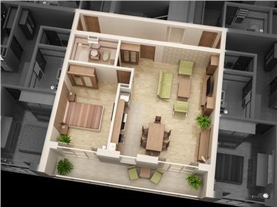 Apartament 2 camere TIP4 de vanzare in Ansamblul CITY RESIDENCE