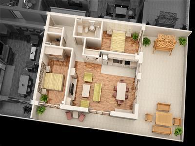 Penthouse TIP 8 de vanzare in Ansamblul CITY RESIDENCE
