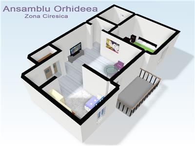 Apartamente 2 camere de vanzare in Sibiu zona Ciresica.