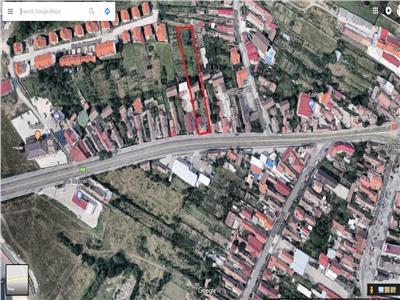 Teren intravilan pretabil constructie blocuri de vanzare in Sibiu
