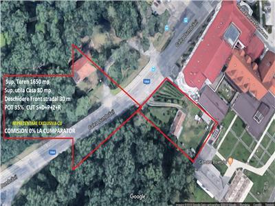Teren intravilan 1650 mp  de vanzare Sibiu zona Calea Dumbravii