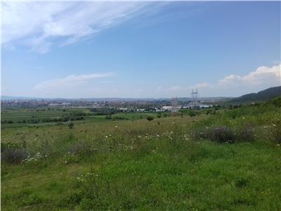 Teren extravilan de vanzare in Sibiu zona Bungard