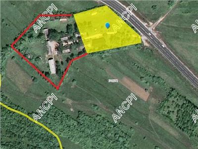 Teren intravilan de vanzare Sibiu DN1 Saliste