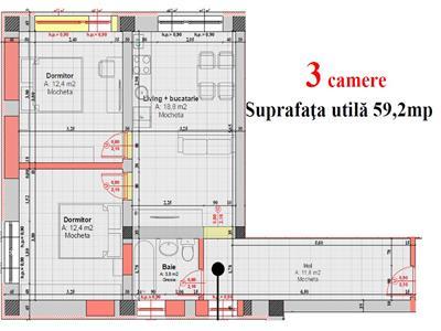 Apartamente 3 camere / vanzare / Cisnadie